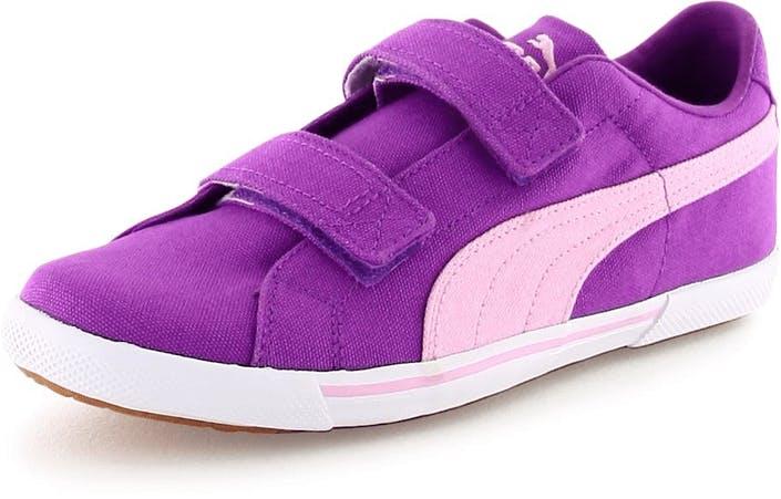 Buy Puma Benecio Canvas V Kids Dewberry pink Shoes Online  1c2c352c9