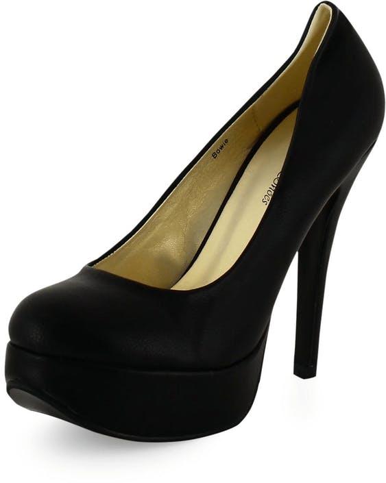 Sugarfree Shoes - Bowie Black