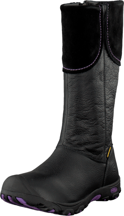 Laken Boot WP Black / Purple Heart