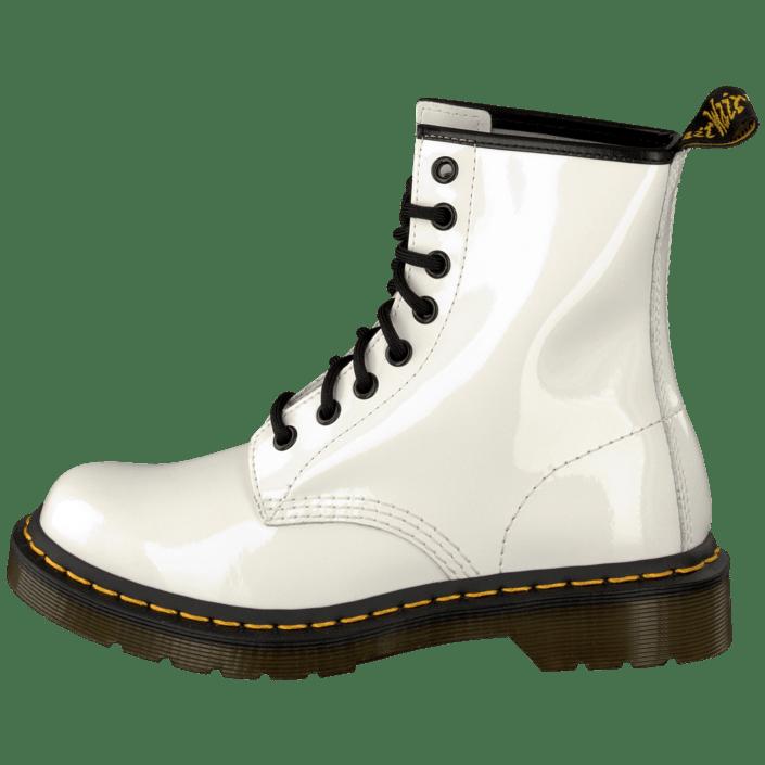 Osta Dr Martens 1460 White Patent valkoiset Kengät Online  a0480596b6