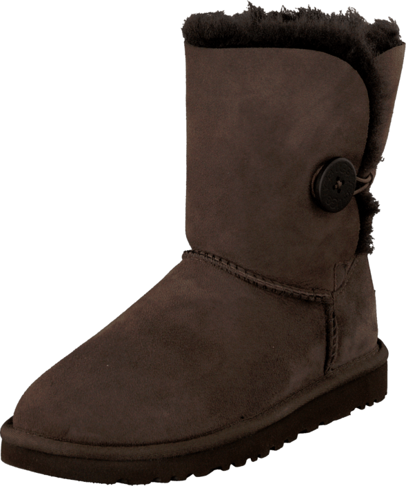 43dc353b50b Köp UGG Bailey Button Chocolate bruna Skor Online | FOOTWAY.se