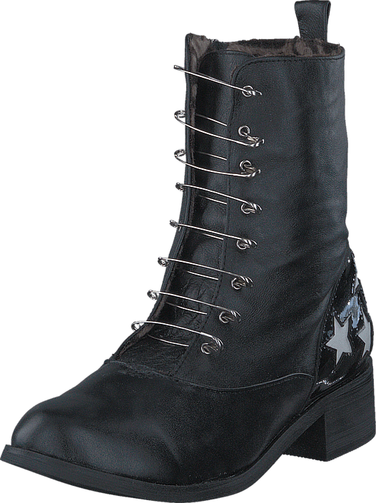 Boot with saftynail Black