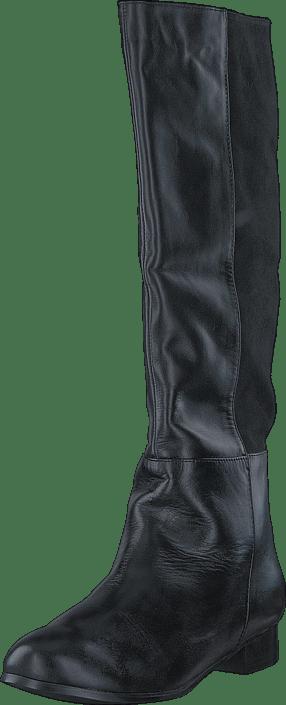 Classic boot lea./suede Black