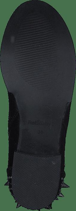 Rock Black By 'n' Fashion Boot Roll C Boots Kjøp Online Sorte Sko q0gtBw5x