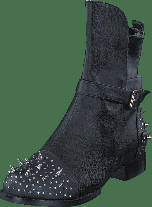 Online Kjøp Boot Black Fashion Sorte Boots Rock Roll By Sko C 'n' UnavrUqY