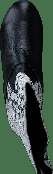 Snake boot Black