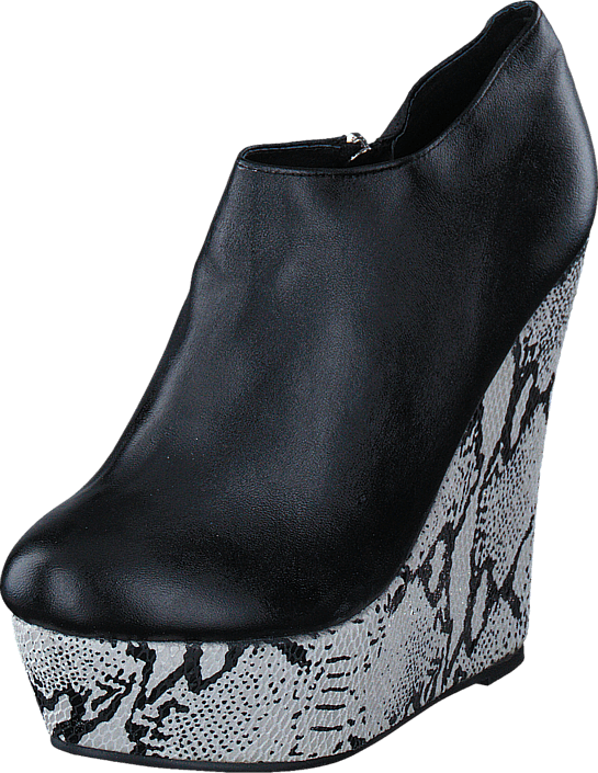 Online C Sorte Kjøp Fashion Sko By Wedge Highboots Snake 0vHZR