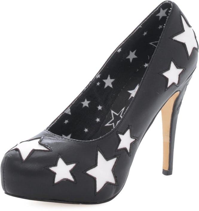 Stars pump Black
