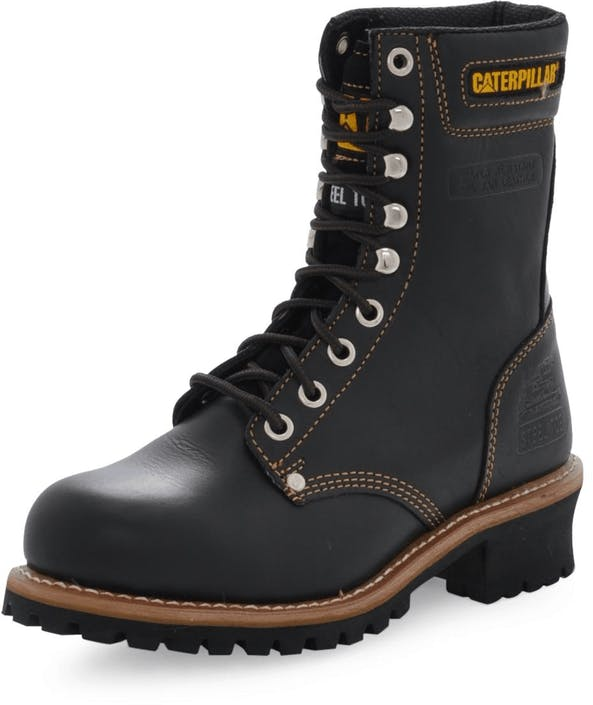 Details about Caterpillar CAT Colorado Boots in Royal Brown & Honey Wheat