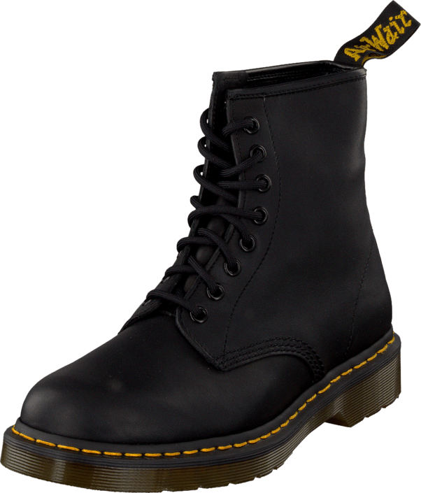 Dr Martens - 1460 Black Greasy
