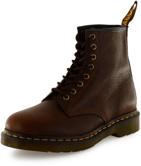 Buy Dr Martens 1460 Brown Inuck Brown Shoes Online   FOOTWAY.co.uk a4cbd14d03
