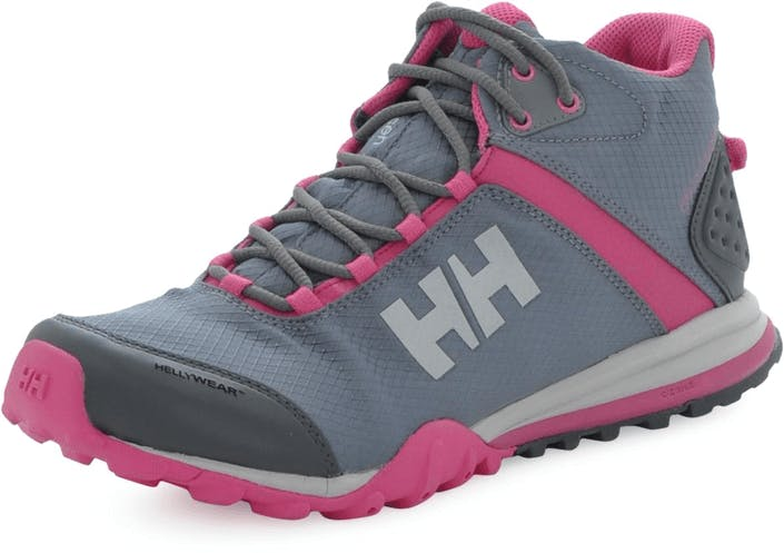 40be4679f5c Buy Helly Hansen W Rabbora Trail Mid Light grey Shoes Online ...