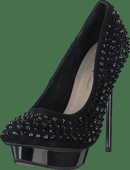 amp; Mindi Black Sorte Friis Sko Kjøp Heels Company Online BwSaR