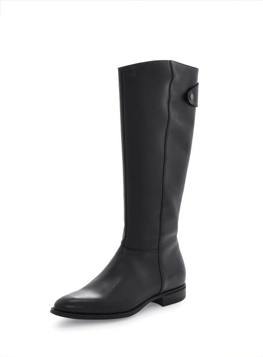 Osta Marc O Polo Flat Heel Chelsea Antic Calf Mustat Kengät Online ... 112f4de364