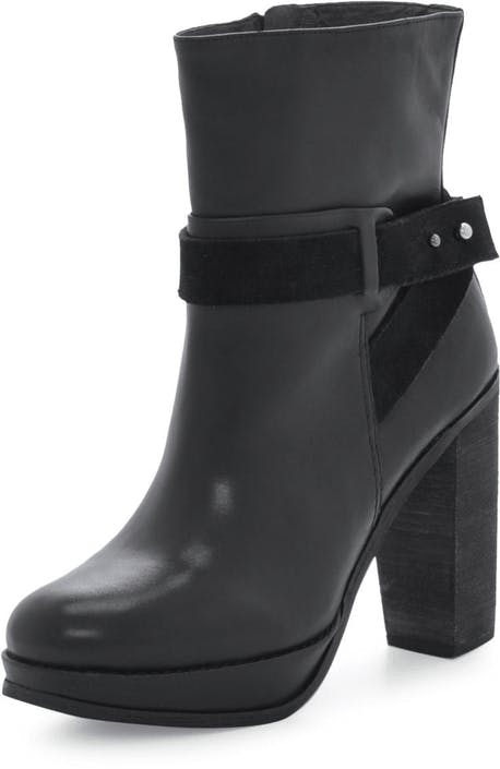 High Heel medium Boot Natural Calf