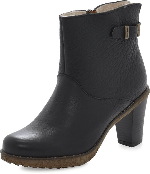 1ace20aa72c8d3 Buy Marc O Polo Mid Heel Bootie Shrunken Buffalo Black black Shoes ...