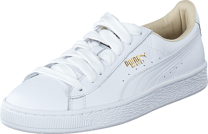 f8ff059ac6 Buy Puma Basket Classic LFS White-White white Shoes Online | FOOTWAY ...