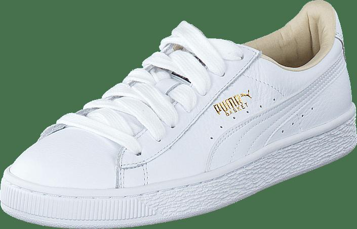 Weiß Damen Puma Basket Classic LFS Freizeitschuhe 36289202
