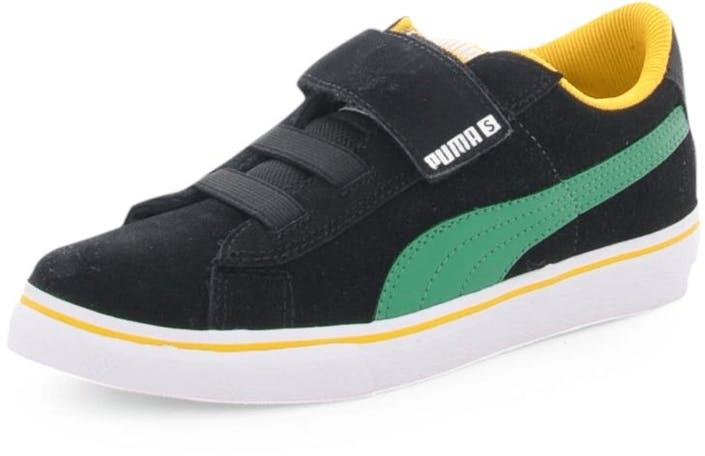 Puma S Vulc V Kids Blk/Green
