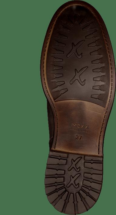 Denise 2 Cow Lthr Boots Charcoal