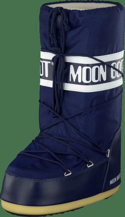 Buy Moon Boot Moon Boot Nylon Blue blue Shoes Online  2e8461e98b3