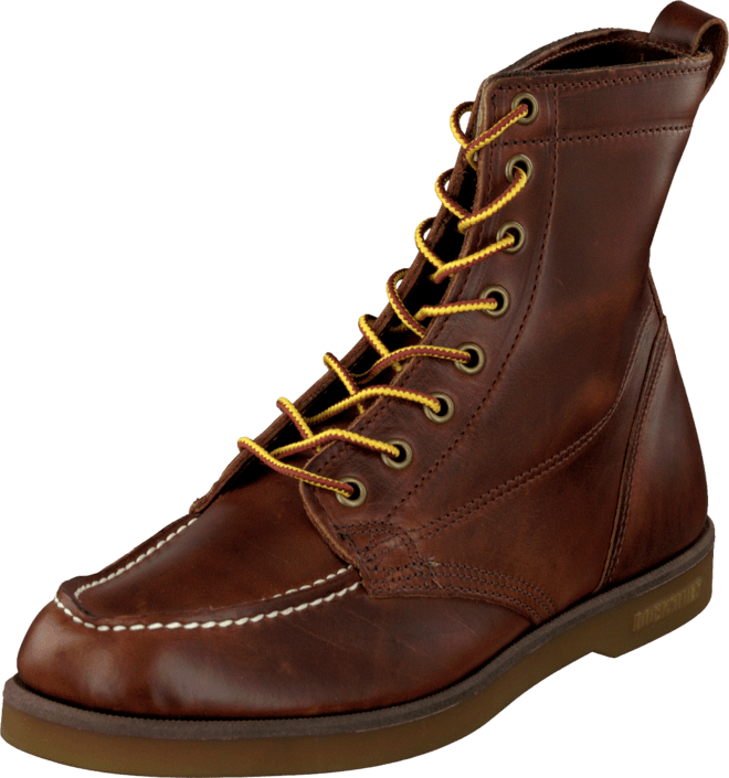 Fairhaven Boot Brown oiled waxy