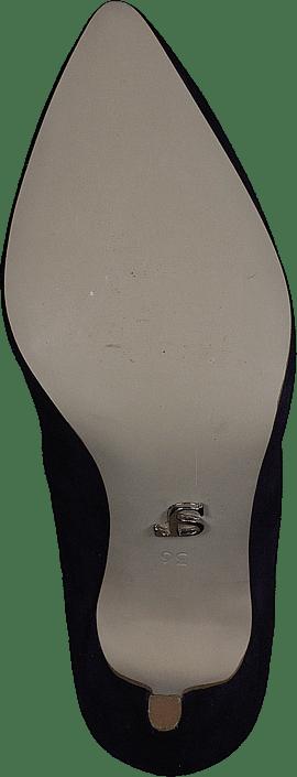Supertrash Blå Kjøp Heels Low Purple Heel Online Sko Dark Pump SYdqgdcwxP
