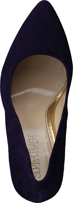 Pump Low Heel Dark Purple
