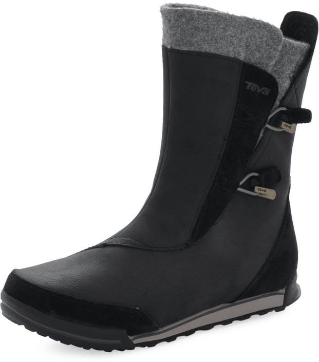 Acheter Teva Haley boot Black Noires Chaussures Online   FOOTWAY.fr 6b80cd2c8d47