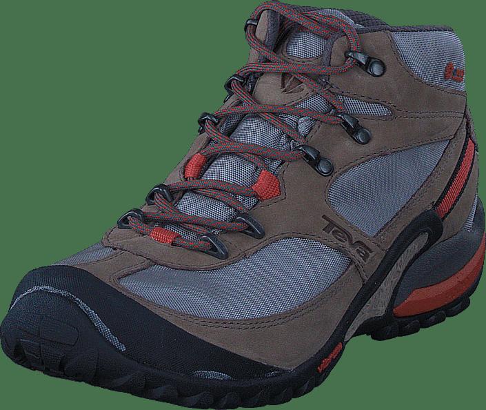 Dalea Boots Grey Teva Mid Mesh Grå Beige Sko Online Event Kjøp Avfq6WHH