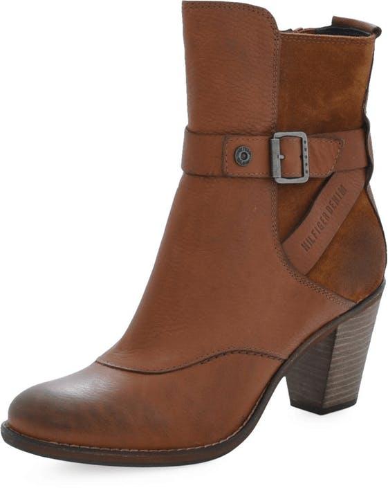 ea8846593 Buy Tommy Hilfiger Christy 4 Cognac brown Shoes Online
