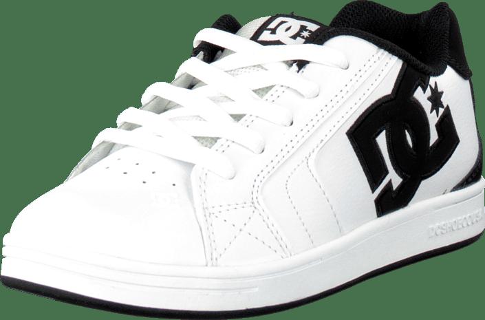 e183585ee9a Koop DC Shoes Kids Net Shoe White/Black witte Schoenen Online ...