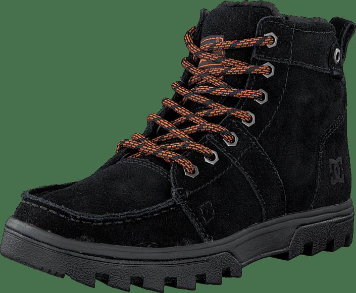 DC skor Woodland skor svart orange svarta Skor Online