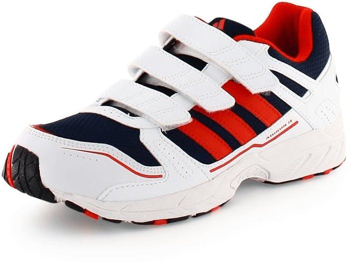 2adaf229a63 Køb adidas Sport Performance adirun 3 CF K White/Red/Blue røde Sko ...