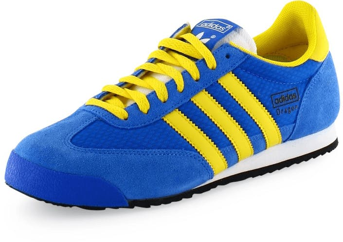 adidas dragon blue yellow|53% OFF |danda.com.pe