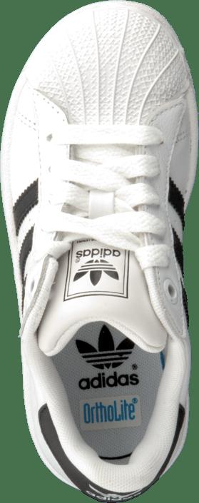 online store c4043 afd7d adidas Originals - DZ.SUPERSTAR 2 K Black White
