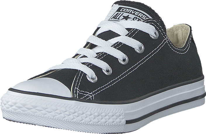 Buy Converse Chuck Taylor All Star Low Kids Black blue Shoes Online ... 4405b7547023