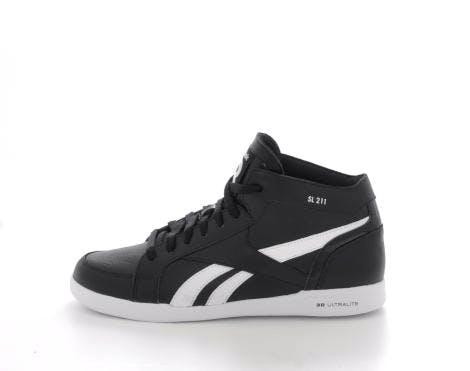 Buy Reebok Classic SL 211 Ultralite Black White black Shoes Online ... 46fa2aeff