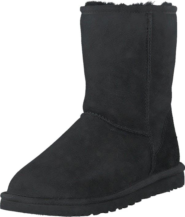 UGG Classic Short M's Black, Skor, Kängor & Boots, Fårskinnsstövlar, Svart, Herr, 41