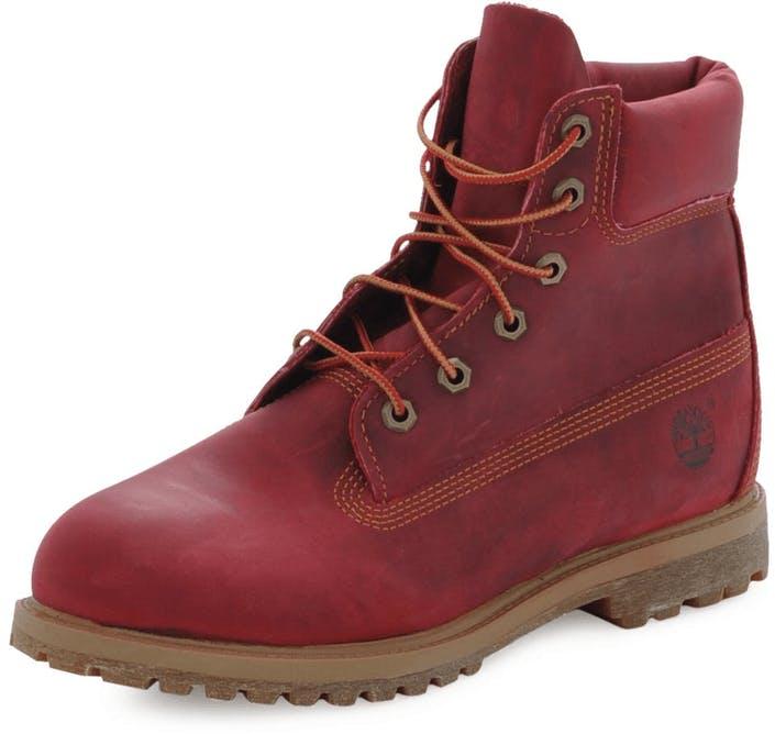a2a126001a9 Køb Timberland AF 6 Inch Premium Boot Red Red røde Sko Online ...