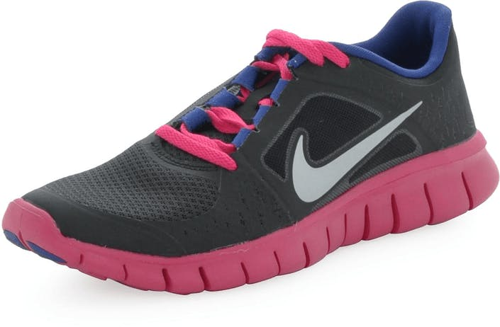 best website 7b06b 1a38d Nike - Nike Free Run 3 (GS) Black-Pink