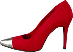 Pointy Pumps Red
