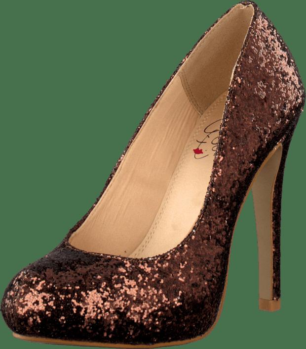 Heels Kjøp Bronze Online Sparkley Girl Brune China Sko BwTBUq10
