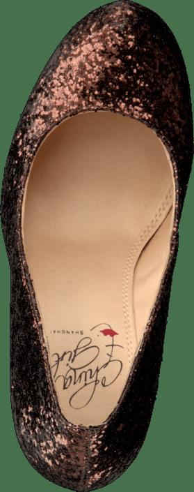 Kjøp China Girl Sparkley Bronze Sko Online