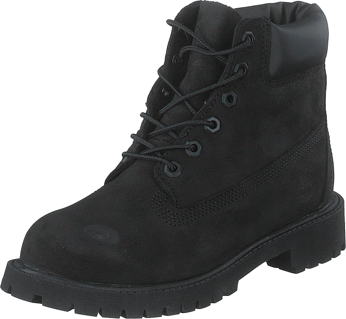 6 Inch Premium Waterproof Boot Black Nubuck Mono