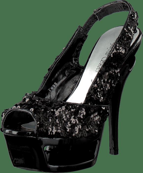 Heels Sko Black Sorte Tess Online Kjøp Shoes Sugarfree x1O0qwXWag