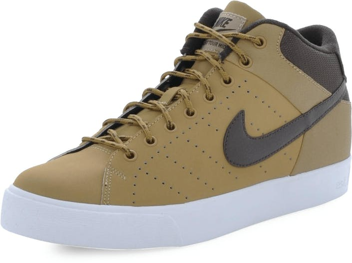 df8492d5533 Buy Nike Court Tour Mid Leather Winter Brown blue Shoes Online ...