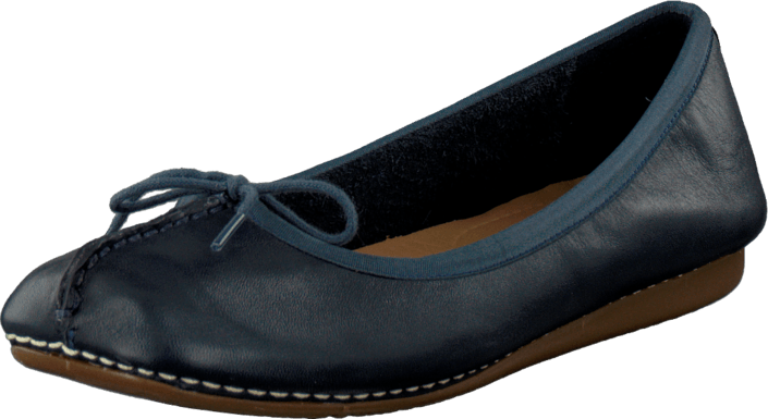 Freckle Ice Navy Leather | Footway