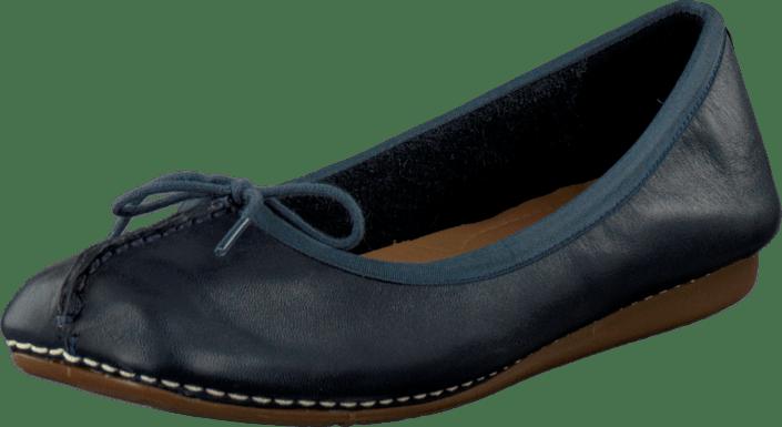 Ice Navy Schuhe Clarks Leather Online Türkis Kauf Freckle qEtwT