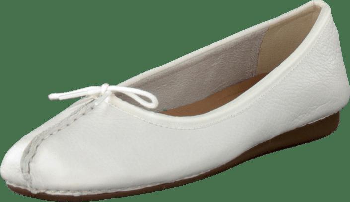 White Weiße Freckle Clarks Kaufen Leather Online Ice Schuhe HwgnOqp